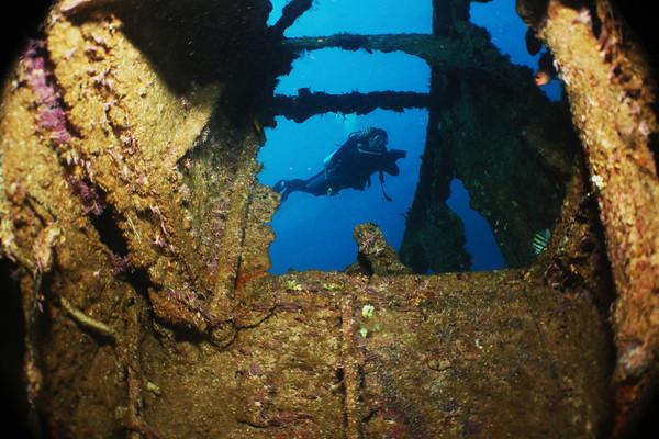 Dominikánská republika potápění